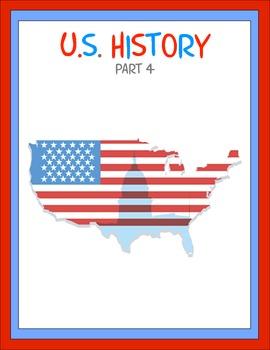 U.S. History Part 4 Thematic Unit