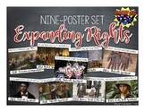 US History Poster Set: Expanding Rights