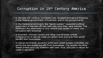 US History PowerPoint: Political Reform and the Progressive Era (Chapter 19)