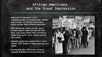US History PowerPoint: The Great Depression and New Deal (Chapter 23)