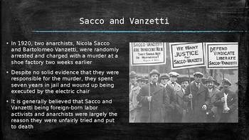 US History PowerPoint: The Roaring Twenties (Chapter 22)