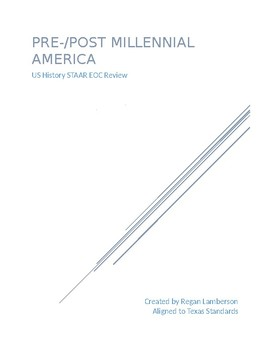 US History Pre-/Post-Millennial America Review