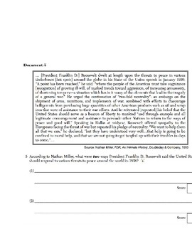 US History - Primary & Secondary Sources - World War II & its' Effects