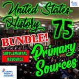 US History Primary Source Bundle! 75 DBQ Documents! (Save