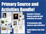 US History Primary Sources & Activities Bundle