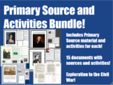 US History Primary Sources & Activities Bundle