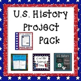 U.S. History Project Bundle