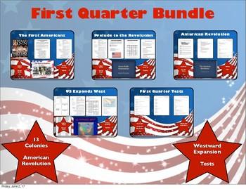 US History Quarter 1 Bundle