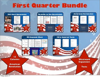 US History Quarter 1 Bundle