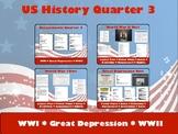 US History Quarter 3 Bundle