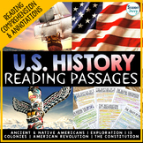 US History Reading Passages | United States History Readin