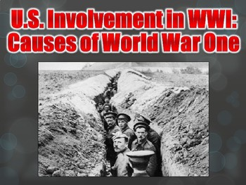 Causes of World War One / Reform PowerPoint