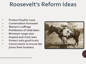 National Progressive Leaders PowerPoint (U.S. History)