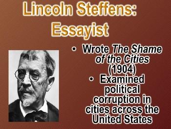 Muckrakers Progressive Era Reform PowerPoint (U.S. History)