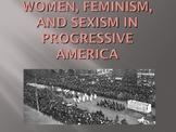 World War 1 Women / Feminism / Sexism PowerPoint (U.S. History)