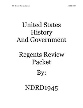 US History Regents Review