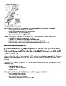 US History Regents Review Packet / Prep - Economic History of the US