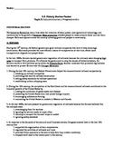US History Regents Review Packet / Prep - Industrialization and Progressivism