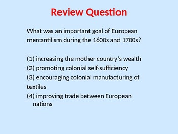 United States History Regents Review Powerpoint w/ Practice Questions-Full Year