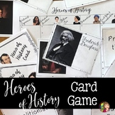 US History Review Game for Important Americans