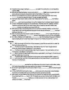 Complete US History Review Guide (sample)