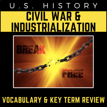 US History Review PowerPoint Presentation: The Civil War & The Industrial Era