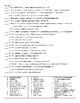 US History Review Sheets