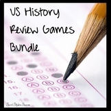 US HISTORY REVIEW GAMES FOR US HISTORY STAAR - BUNDLE OF GAMES