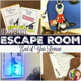 US History Escape Room Activity
