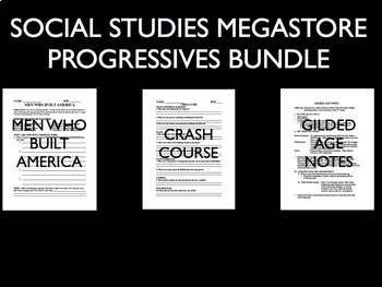Progressive Era and Gilded Age Bundle