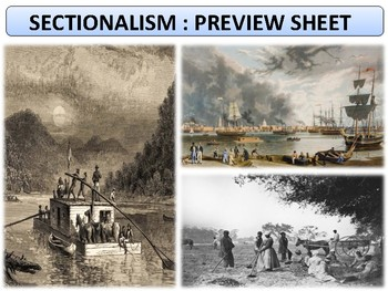 Sectionalism - Homework File