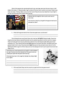 US History: Shays Rebellion