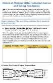 US History Skill Building Workbook: Gilded Age