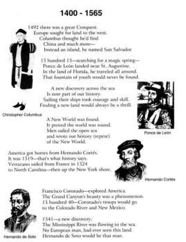 U.S. History Songs #1 lyrics by Troxel/Audio Memory