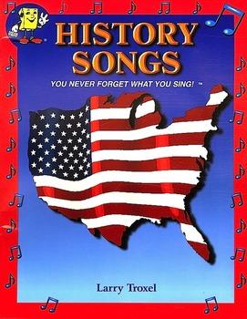 U.S. History Songs #11 MP3 by Larry Troxel/Audio Memory