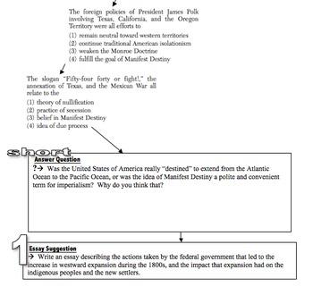 U.S. History Survey - Parts I-IV
