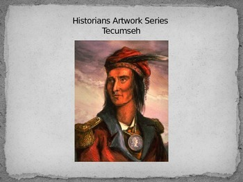 """U.S. History """"TECUMSEH"""" Sketch and Common Core Quotes Analysis."""