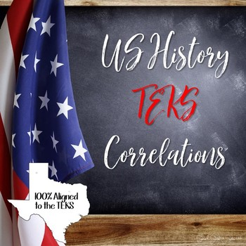 US History TEKS Correlations for Social Studies Success Resources