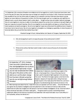 US History: Terrorism