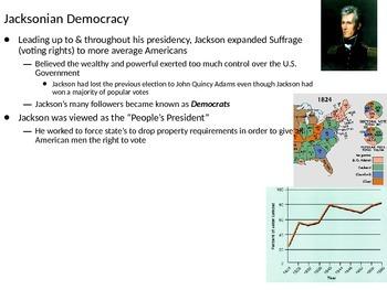 U.S. History: The Age of Jackson