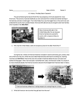 US History: The Baby Boom