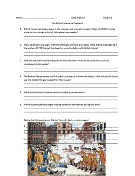 US History: The Boston Massacre