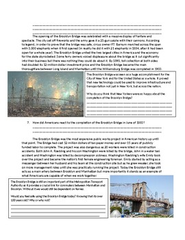 US History: The Brooklyn Bridge