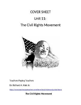 US History: The Civil Rights Movement Common Core Unit Guide