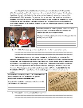 US History: The Constitutional Ideas