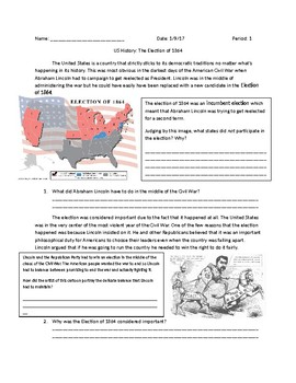 US History: The Election of 1864
