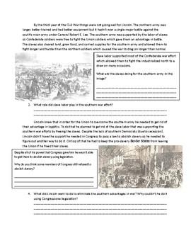 US History: The Emancipation Proclamation