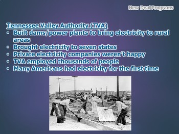 Great Depression: FDR and the New Deal PowerPoint (U.S. History)