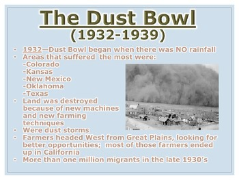 Great Depression & New Deal PowerPoint Presentation (U.S. History)
