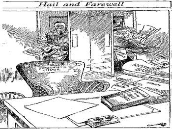 Roosevelt's New Deal Political Cartoon PowerPoint (U.S. History)